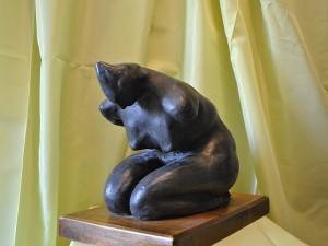 Disperazione 1996 -terracotta patinata