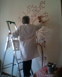 Decorazione di parete